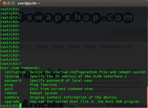 HP V1910 - How to Enable Full Command Line Access for SSH or