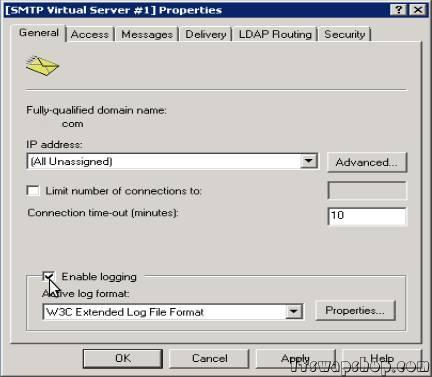 IIS_SMTP_Server_Enable_Logging_2