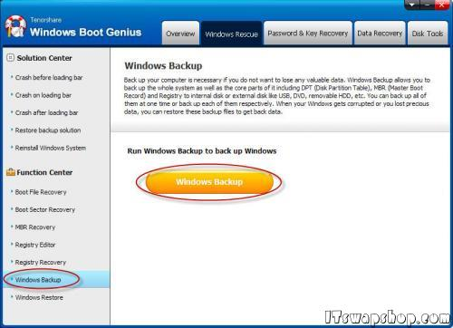 Fix Almost any Boot Problem with Windows Boot Genius and Recover Data and Passwords - 5