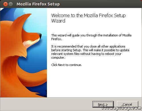 How to Install Windows Version of Firefox on Ubuntu Linux with Wine