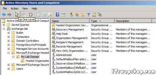 Exchange Active Directory